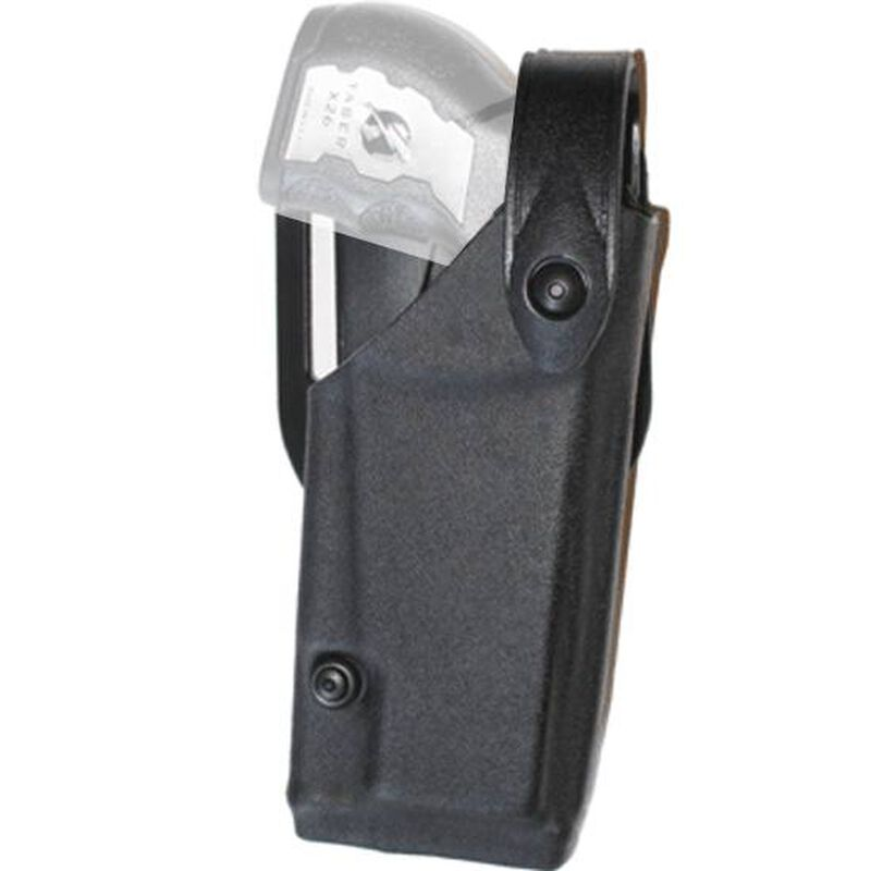 Safariland 6520 SLS EDW Holster with Belt Clip Level II Retention Taser Holster Left Hand Taser X26 STX Tactical Black 6520-64-132