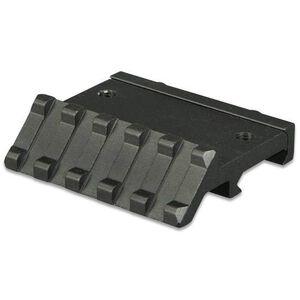 """Lion Gears AR-15 Tactical Angle Mount 45° 5 Slots 2.16"""" Long Aluminum Black BM05D45"""