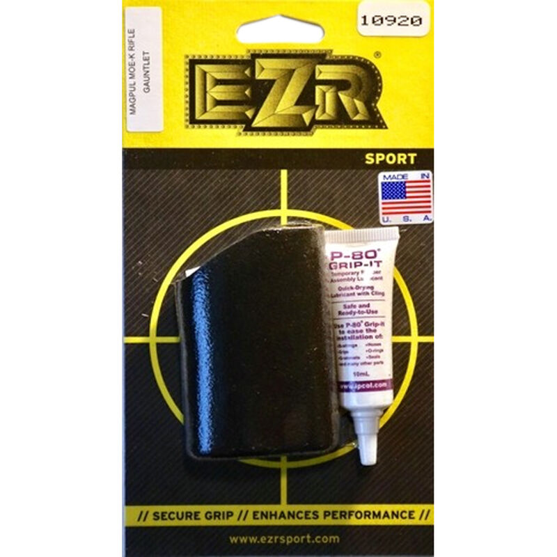 EZR Sport Magpul MOE-K Gauntlet AR Grip Sleeve Sorbothane Black