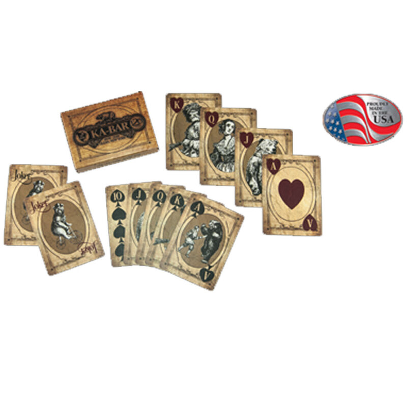 KA-Bar 120th Anniversary United States Playing Card Company Standard Deck of Playing Cards