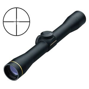 Leupold FX-II Scout 2.5x28mm Riflescope Duplex Reticle 1/4 MOA Black Matte