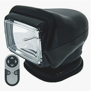 Stryker HID Portable Marine Searchlight with Remote Black 30513