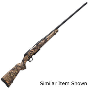 """Winchester XPR Hunter Compact Bolt Action Rifle .243 Winchester 20"""" Barrel 3 Rounds DBM Synthetic Stock Mossy Oak Break Up Country Finish"""
