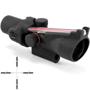 Trijicon ACOG TA47R-4 Riflescope 2x20 Illuminated Red Crosshair Reticle with BAC 1/2 MOA Aluminum Matte Black with Carry Handle Mount TA47R-4