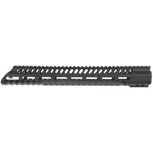 "Diamondhead USA VRS T-556 M-LOK Series-3 Free Floating Handguard 15"" M-LOK Compatible Aluminum Black Anodized Finish"