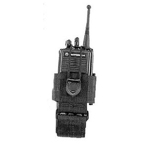 Uncle Mike's Universal Radio Carrier Fixed Loop Cordura Black 8880-4