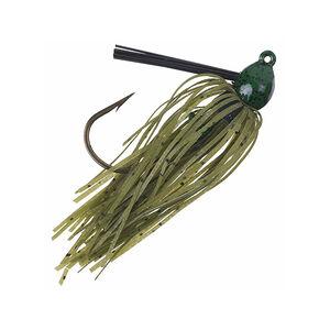 Strike King Lures Bitsy Bug Mini Jig 1/16 oz Fiber Weedguard Green Crawfish 1 Pack