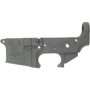Stag Arms LLC AR-15 Forged Stripped Lower Receiver Multi Caliber 7075-T6 Aluminum Hard Coat Anodized Finish Matte Black