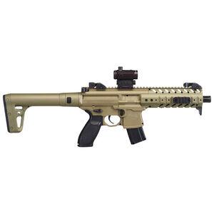Sig Sauer MPX ASP Air Rifle CO2 575 fps Red Dot Sight .177 Caliber FDE