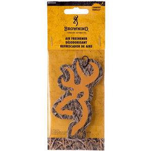 Signature Products Group Browning Buckmark Logo 3D Plastic Air Freshener Fresh Vanilla MOSGB Camo