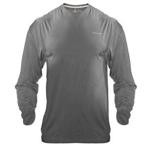 Medalist Men's Tactical Shield Long Sleeve Crew Shirt Polyester/Spandex XXL Charcoal M4625CH2XL