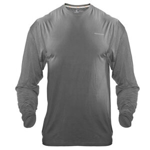 Medalist Men's Tactical Shield Long Sleeve Crew Shirt Polyester/Spandex Medium Charcoal M4625CHM