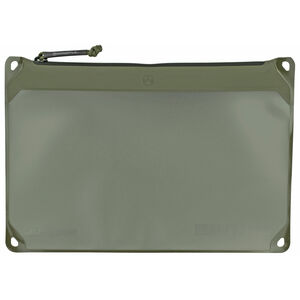 "Magpul DAKA Window Pouch Size Large 9""x13"" Reinforced Polymer Fabric OD Green"