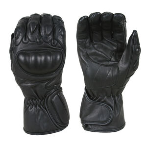 Damascus Gear Vector 1 Riot Control Glove w/Carbon-Tek Fiber Knuckles Small Black