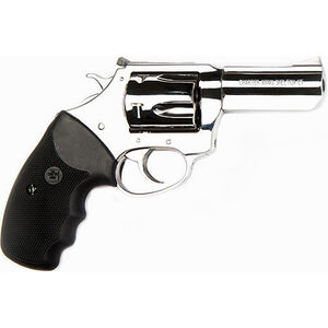 """Charter Arms Mag Pug .357 Mag DA/SA Revolver 3"""" Barrel 5 Rounds Rubber Grip Polished Stainless Finish"""