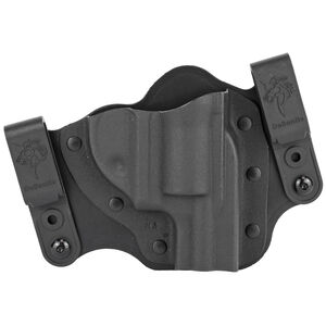 DeSantis Intruder 2.0 Holster IWB/OWB for Ruger LCR/LCRX Right Hand Draw Kydex Black
