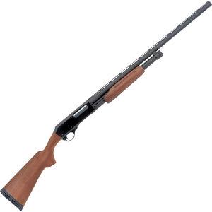 "H&R 1871 Pardner Pump Shotgun 12 Gauge 3"" Chamber Walnut Stock Black Finish"