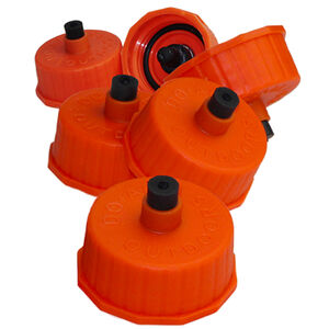 Do All Outdoors Thunder Cap Super Sonic Target Valve Orange 6 Pack