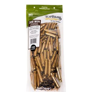 Top Brass .308 Winchester Reconditioned Brass 250 Count Bag