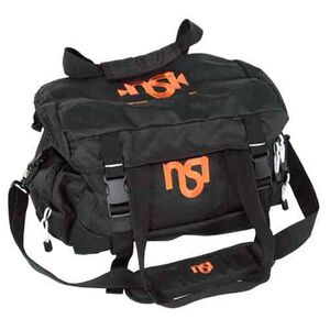 "DKG Range Bag With Shoulder Strap 18"" Black With NSI Orange Logo Nylon NSIBAG"