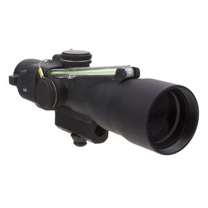 Trijicon 3x24 Compact ACOG Scope, Dual Illuminated Green Horseshoe/Dot .223/55gr. Ballistic Reticle with M16 Carry Handle Base and Mounting Screw
