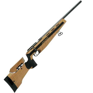 "Anschutz Model 1903 Target Bolt Action Rifle .22 LR 25.6"" Heavy Barrel Single Shot Walnut Stock Blued A000271"
