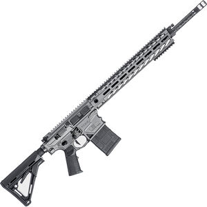 "NEMO XO Carbon AR Style Semi Auto Rifle 6.5 Creedmoor 20"" Barrel 20 Rounds 15"" Aluminum M-LOK Handguard Magpul CTR Collapsible Stock Tungsten Grey"