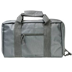 VISM Discreet Double Pistol Soft Case Nylon Gray CPU2903
