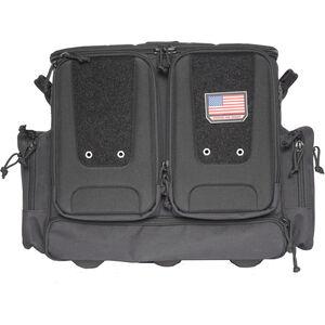 G Outdoors Tactical Rolling Range Bag Black