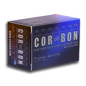 Cor-Bon .38 SPL +P 125 Grain JHP 20 Round Box 950 fps