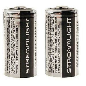 3-Volt Lithium Batteries for Scorpion Flashlight, 6 Pack