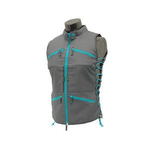 Leapers UTG, True Huntress Female Vest, Adjustable Fit, Gray/Blue