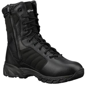 "Smith & Wesson Breach 2.0 Side Zip 9"" Tactical Boot 8.5 Black"