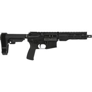 "Radical Firearms 5.56 NATO AR-15 Semi Auto Pistol 7.5"" Barrel 30 Rounds 7"" Free Float M-LOK FCR Handguard SB-Tactical Pistol Brace Black"