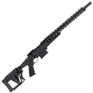 "Howa Australian Precision Chassis Bolt Action Rifle .223 Remington 20"" Heavy Barrel Threaded 10 Round DBM Luth-AR MBA-4 Adjustable Stock Matte Black"