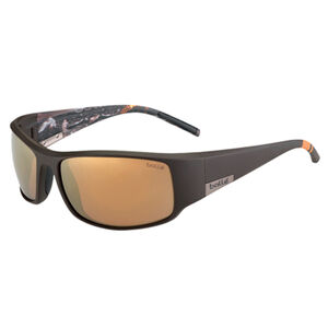 Bolle King Shooting/Sporting Polarized Sunglasses Brown