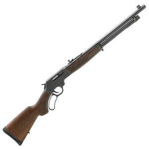 """Henry Repeating Arms .410 Bore Lever Action Shotgun 19.75"""" Barrel 5 Round Capacity Blued Steel Receiver American Walnut Stock Blued Finish"""