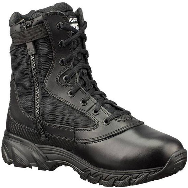 """Original S.W.A.T. Chase 9"""" Tactical Side Zip Boot Nylon/Leather Size 7.5 Regular Black 1312-BLK-7.5"""