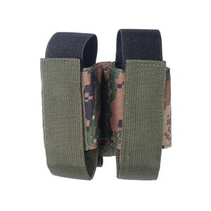 UTG Molle 40mm Grenade Double Pouch, Woodland Digital