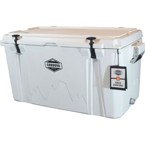 Cordova 100 Large Cooler, 88 Quarts, White