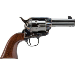 "Cimarron Firearms New Sheriff .44-40 Win Single Action Revolver 6 Rounds 3.5"" Barrel Walnut Grips Case Color/Blued Finish"