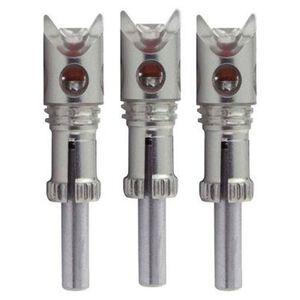 Nockturnal Crossbow Predator Red Lighted Nock, 3 Pack, NT732