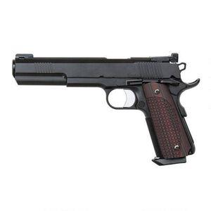 "Dan Wesson 1911 Bruin Semi Auto Pistol 10mm Auto 6.3"" Barrel 8 Rounds Fiber Optic Front Sight G-10 Grips Stainless Steel Frame Black Duty Finish"