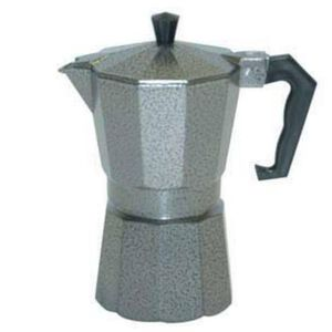 Chinook Granite Expresso Coffee Maker 6 Cup Aluminum 41356