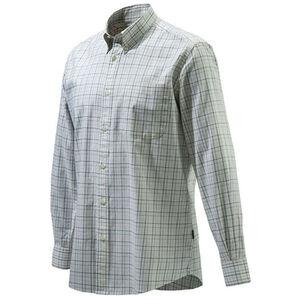Beretta Men's Classic Drip Dry Shirt Long Sleeve Small ERCU Checkered
