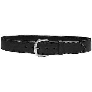 "Galco Gunleather SB2 Sport Belt 1.5"" Wide Nickel Plated Brass Buckle Leather Size 38 Black SB2-38B"