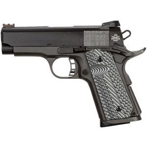 "Rock Island Armory ROCK Ultra CS-L 9mm Luger/.22 TCM-9R 1911 Semi Auto Handgun 3.62"" Barrel 8 Rounds Aluminum Frame G10 Grips Black"