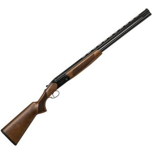 "CZ-USA Drake Over/Under Break Action Shotgun 20 Gauge 28"" Vent Rib Barrels 2 Rounds 3"" Chamber Turkish Walnut Stock With Pistol Grip Gloss Black Chrome Finish"