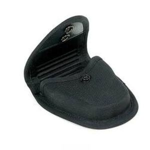 BLACKHAWK! Duty Gear Molded Handcuff Pouch for Any Cuffs, Black Cordura Nylon