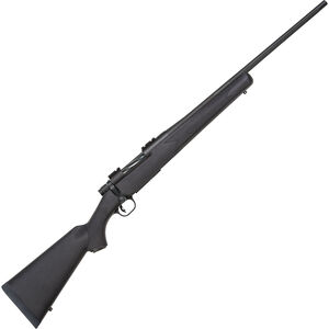 """Mossberg Patriot Hunting Bolt Action Rifle 6.5 Creed 22"""" Fluted Barrel 4 Rounds Synthetic Stock Matte Blued"""
